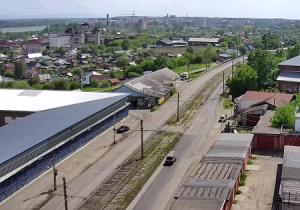 Панорама города Бийск