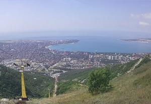 Панорама Геленджика с канатной дороги Олимп