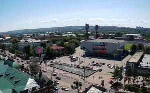 """Дворец спорта """"Труд"""" в Иркутске"""