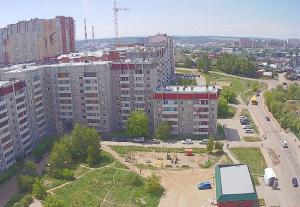 Улица Вампилова в Иркутске