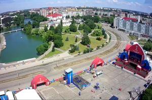 Вид с Дома Советов в Калининграде