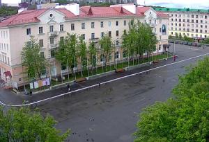 Площадь Сафонова в Североморске