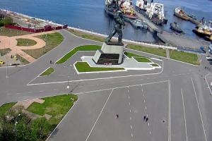 Приморская Площадь в Североморске