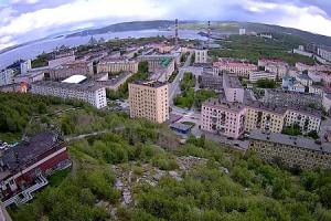Центр города Североморск