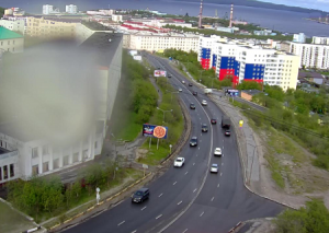 Улица Душенова в Североморске