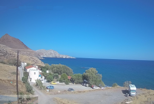 Побережье деревни Лентас на острове Крит