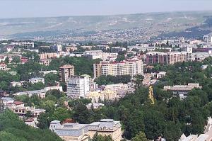 Санаторий имени Горького в Кисловодске