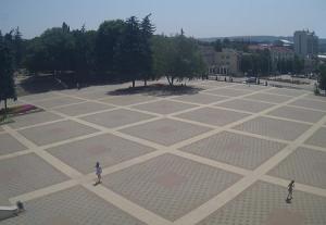 Площадь Ленина в Пятигорске
