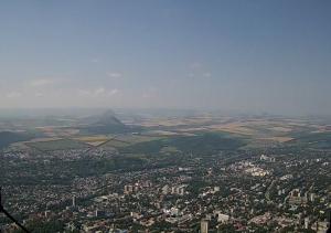Пятигорск с горы Машук