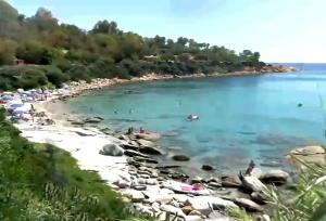 Пляж Порто-Фраилис в Арбатаксе на Сардинии