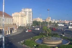 Площадь Севильи в городе Кадис