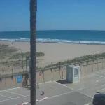 Пляж города Кастельдефельс в Испании