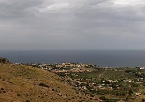 Побережье острова Сицилия с города Вальдериче