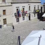 Площадь Лоджии в городе Эриче на Сицилии