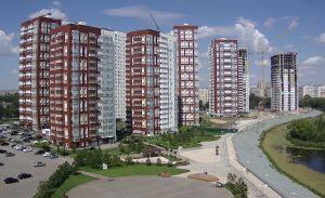 """Строительство ЖК """"Аквамарин"""" в Ульяновске"""
