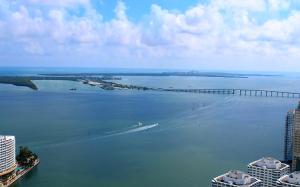 Вид из отеля W Miami в городе Майами