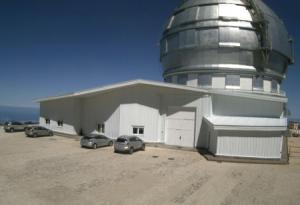 Большой Канарский телескоп в обсерватории Роке-де-лос-Мучачос