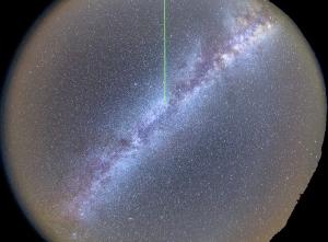 Небо над обсерваторией Роке-де-лос-Мучачос
