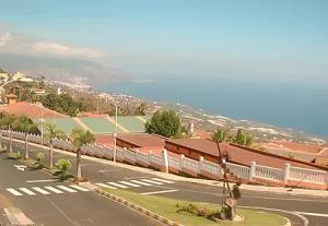 Панорама Вилья-де-Масо на острове Ла-Пальма