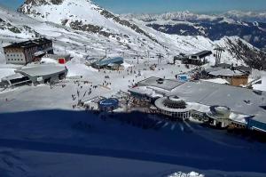 Ресторан Альпинцентр на горнолыжном курорте Капрун