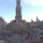 Площадь Гроте Маркт в Брюгге
