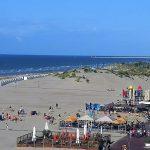 Пляж курортного города Oostduinkerke-Bad
