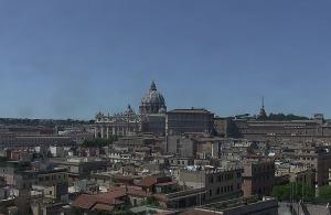 Панорама Ватикана из отеля Atlante Star