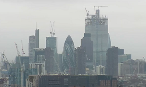 Панорама Лондонского Сити