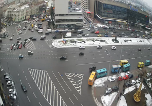 Площадь Победы в Киеве