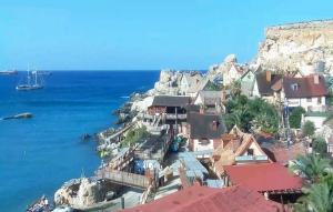 Деревня Попай на Мальте