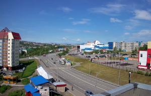 Проспект Циолковского в Петропавловске-Камчатском