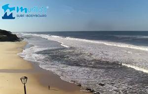 Пляж Сан-Педро-де-Моэль в Португалии