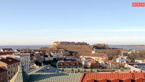 Варбергская крепость в Швеции