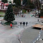 Веб камера Украины, город Трускавец, площадь Независимости
