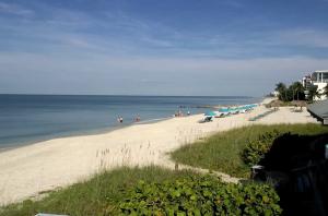 Пляж города Нейплс во Флориде