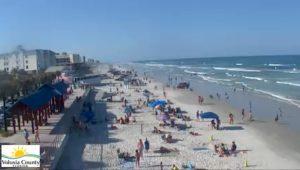 Пляж Нью-Смирна-Бич во Флориде