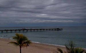 Пляж Форт-Лодердейл и пирс Англин из отеля Windjammer Resort and Beach Club