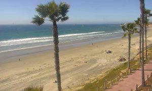 Вид из отеля Pacific Terrace в Сан-Диего