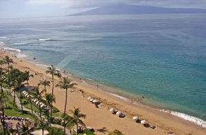 Пляж Каанапали из отеля Westin Maui Resort & Spa на острове Мауи