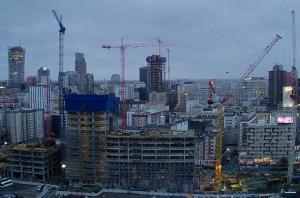 Строительство бизнес-центра Varso Tower в Варшаве