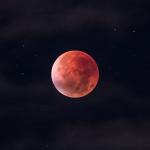Трансляция полного лунного затмения 21 января 2019 года