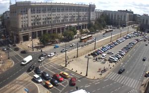 Площадь Конституции в Варшаве