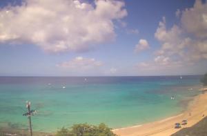 Залив Пейнс на острове Барбадос