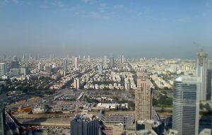 Панорама Тель-Авива в Израиле