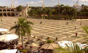 Площадь Испании в Санто-Доминго