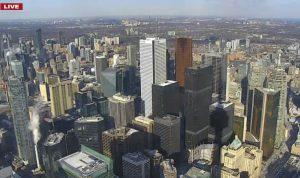 Торонто с телевизионной башни CN Tower