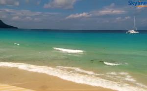 Пляж Бо Валлон на острове Маэ