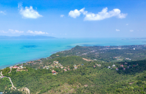 Вид из виллы Angthong Hills на острове Самуи