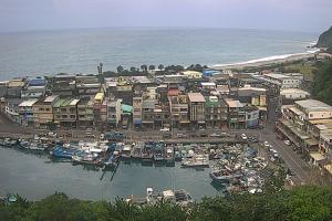 Гавань города Илань в Тайване