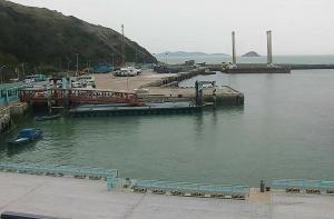 Бухта Байша на острове Бейган в Тайване